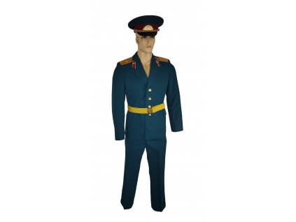 Vycházková uniforma důstojník ve výslužbě VV. Rusko (SSSR,Sovětský svaz) zelená originál