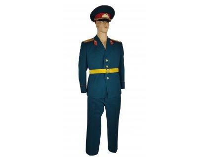 Vycházková uniforma zdravotní důstojník Rusko (SSSR,Sovětský svaz) zelená originál