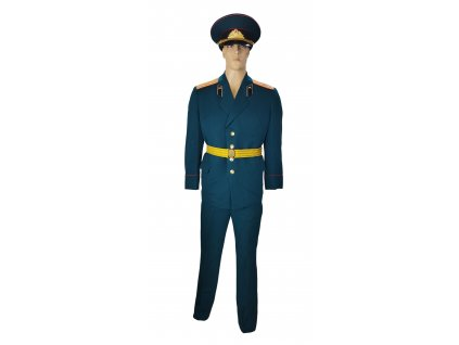 Vycházková uniforma dělostřelecký důstojník Rusko (SSSR,Sovětský svaz) zelená originál