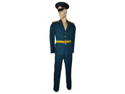 Vycházková uniforma dělostřelecký plukovník Rusko (SSSR,Sovětský svaz) zelená originál