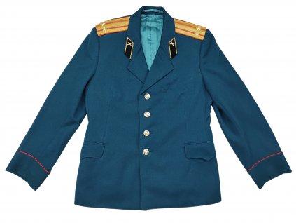 Sako vycházkové dělostřelecký podplukovník Rusko (SSSR,Sovětský svaz) zelené originál