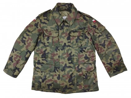 Polní bunda maskovací zateplená s vložkou Polsko 130/MON originál