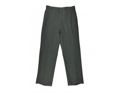 Kalhoty vycházkové US vlněné oliv originál