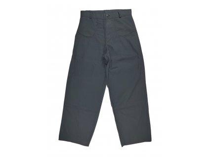 Kalhoty bavlněné černé Locker