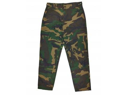 Kalhoty BDU US woodland R/S zateplené
