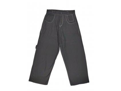 Kalhoty černé široké Locker