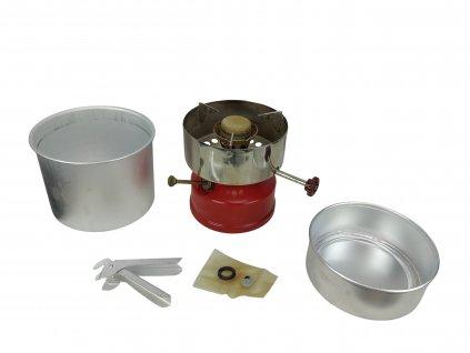Turistický benzínový vařič POLSPORT originál