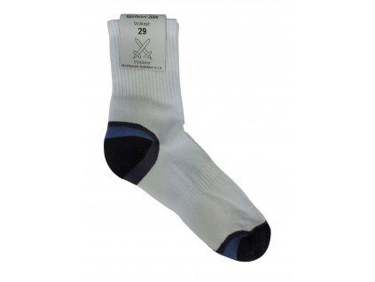 Ponožky sportovní 2006 bílé AČR originál