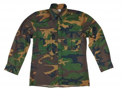 Košile woodland ripstop dlouhý rukáv