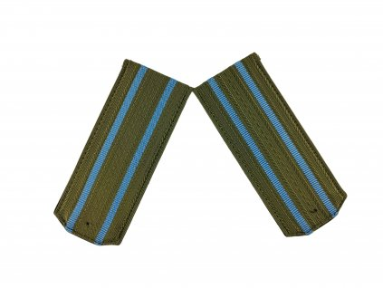 Výložky polní důstojník výsadkové jednotky SSSR Rusko zeleno modré originál