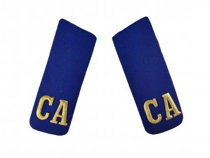 Výložky CA soukromá druhá třída vzdušných sil SSSR Rusko modré originál
