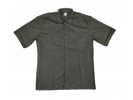 Košile černá krátký rukáv Locker
