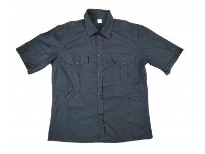 Košile tmavě modrá krátký rukáv R/S Locker