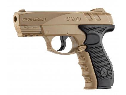 GP-20 Combat Desert vzduchová pistole CO2 4,5 mm / .177 Gamo
