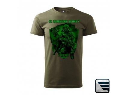 MARS & ARMS tričko s potiskem Team Seal Six