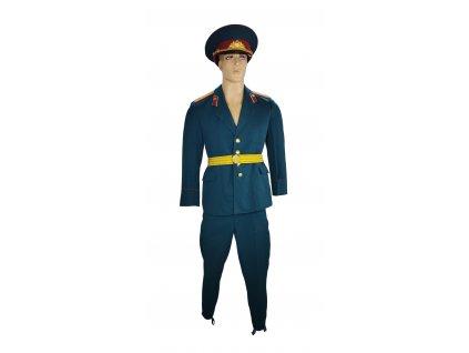 Vycházková uniforma poručík střelecké mechanizované jednotky Rusko (SSSR,Sovětský svaz) zelená originál