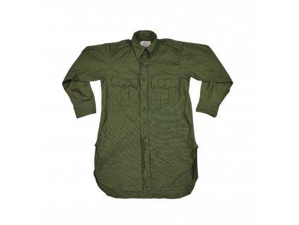 Košile M44 Tropical Jungle Green Velká Británie originál