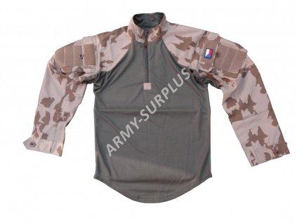 Blůza pod balistickou ochranu 2012 s béžovým potiskem (taktická košile) UBACS vz.95 AČR Koutný
