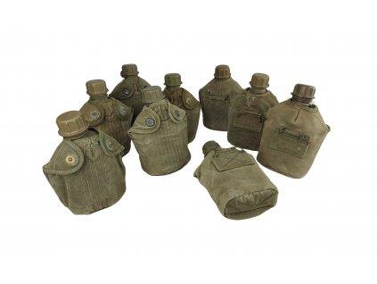 Polní láhev US M56 Korea Vietnam oliv originál