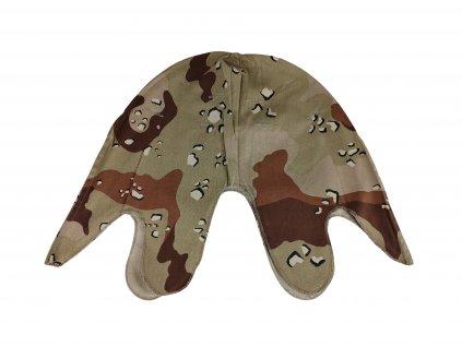 Potah na ocelovou helmu US M1 pouštní Desert 6 color