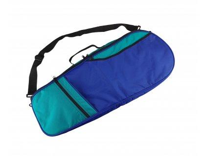 Taška na dvě tenisové rakety modro zelená SPM