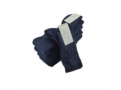 Podkolenky modré zimní pletená vlna AČR originál