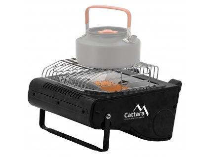 Plynové topení + vařič HEAT&COOK CATTARA