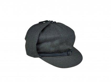 Čepice nádražácká zimní ČSD retro šedá Tonak