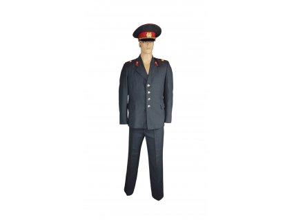 Vycházková uniforma vyšší policejní seržant Rusko (SSSR,Sovětský svaz) šedá originál
