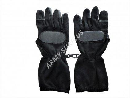 Taktické rukavice SWAT černé nomex long