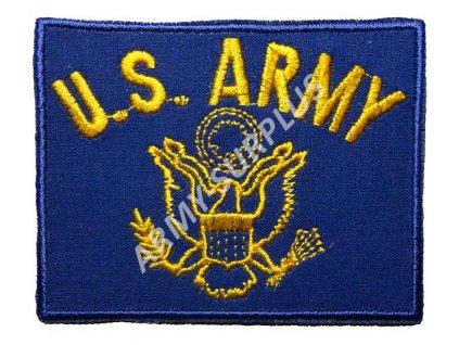 Nášivka U.S. ARMY logo - modrá