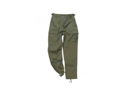Kalhoty oliv BDU kapsáče