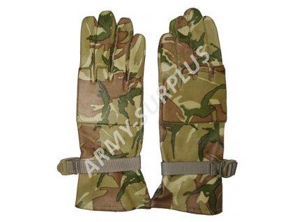 Rukavice britské kožené MTP Combat gloves Velká Británie