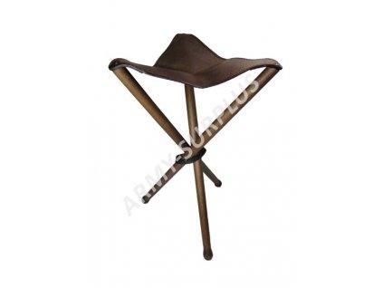 Sedátko třínohé (sedací trojnožka) skládací