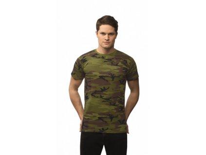 Triko (tričko) Military AlexFox model 95 s krátkým rukávem
