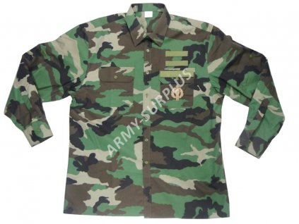 Košile maskovací woodland slovenská armáda vz. 97