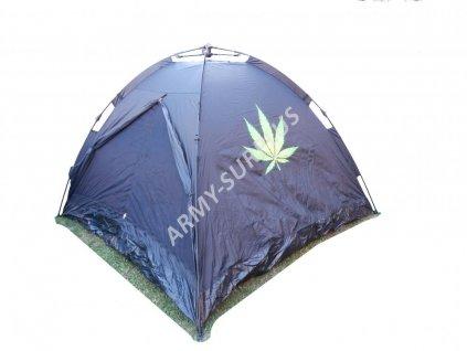 Stan pro 3 osoby (cannabis,tráva) Commando černý