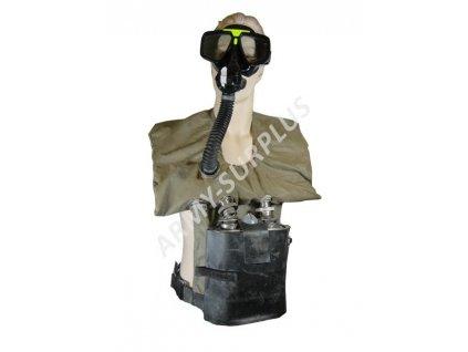 Evakuační přístroj ATE-1 pro obrněná vozidla (plynová maska)