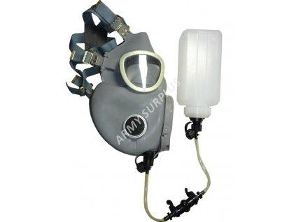Plynová maska Polsko MP4B s hydratačním systémem