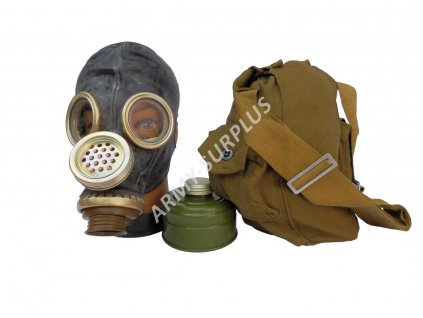 Plynová maska Rusko PMG-2 s brašnou a filtrem černá