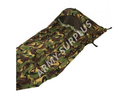 Povlak na spací pytel (spacák, žďárák, bivak) DPM camo GORE-TEX Holandsko NL bivy cover II.jakost