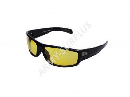 Brýle operátor sluneční žluté skla