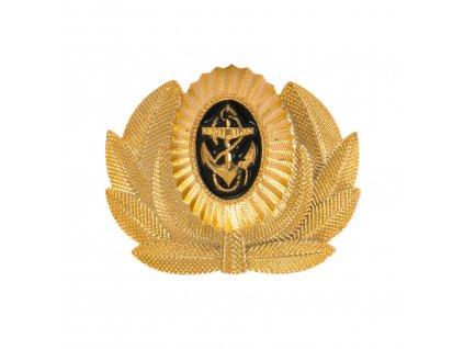 Odznak Rusko námořní s kotvou a okružím na čepici