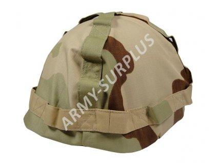Potah (povlak,obal,převlek) na helmu - Desert 3 color