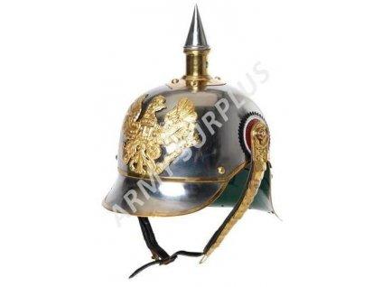 Helma (přilba) pruská (kyrysník) s bodcem