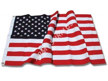 Vlajka USA bavlna 150x270cm