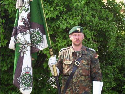 Odznak na baret BW (Bundeswehr) JÄGERTRUPPE