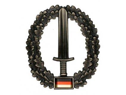 Odznak na baret BW (Bundeswehr) KSK