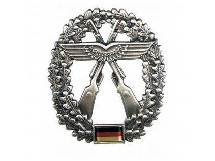 Odznak na baret BW (Bundeswehr) Luftwaffensicherungstruppe