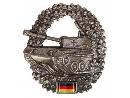 Odznak na baret BW (Bundeswehr) PANZERTRUPPE originál